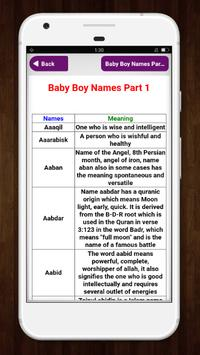 Muslim Baby Names and Meaning screenshot 14