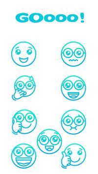 4 Schermata WAStickerApps EmojiGo