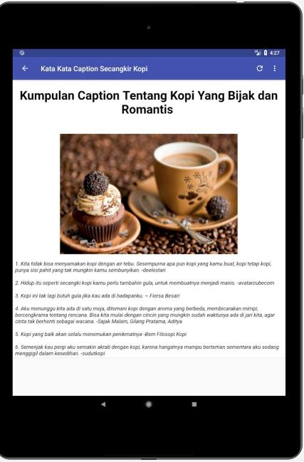Kata Bijak Filosofi Kopi For Android Apk Download