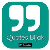 Quotes Bijak - Kata Bijak Motivasi & Inspirasi icon