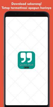 Quotes Bijak - Kata Bijak Motivasi & Inspirasi screenshot 4
