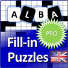 Fill it ins crosswords PRO - Fill ins word puzzles icon