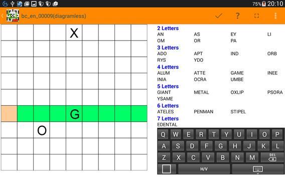 Fill it ins crosswords PRO- Fill ins word puzzles imagem de tela 10