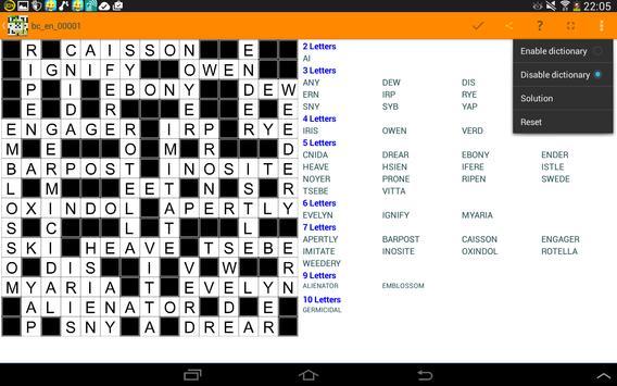 Fill it ins crosswords PRO- Fill ins word puzzles imagem de tela 13