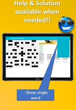 Fill it ins crosswords PRO- Fill ins word puzzles imagem de tela 18