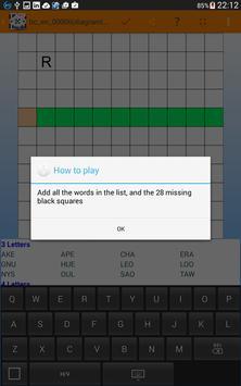 Fill it ins crosswords PRO- Fill ins word puzzles imagem de tela 21