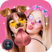 Live Face Sticker – Sweet Filter with Live Camera icon