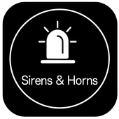 Sirens and Horns Ringtones icon