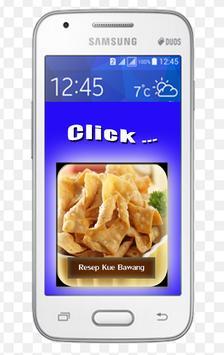 Resep Kue Bawang Renyah screenshot 1