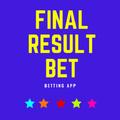 final result bet