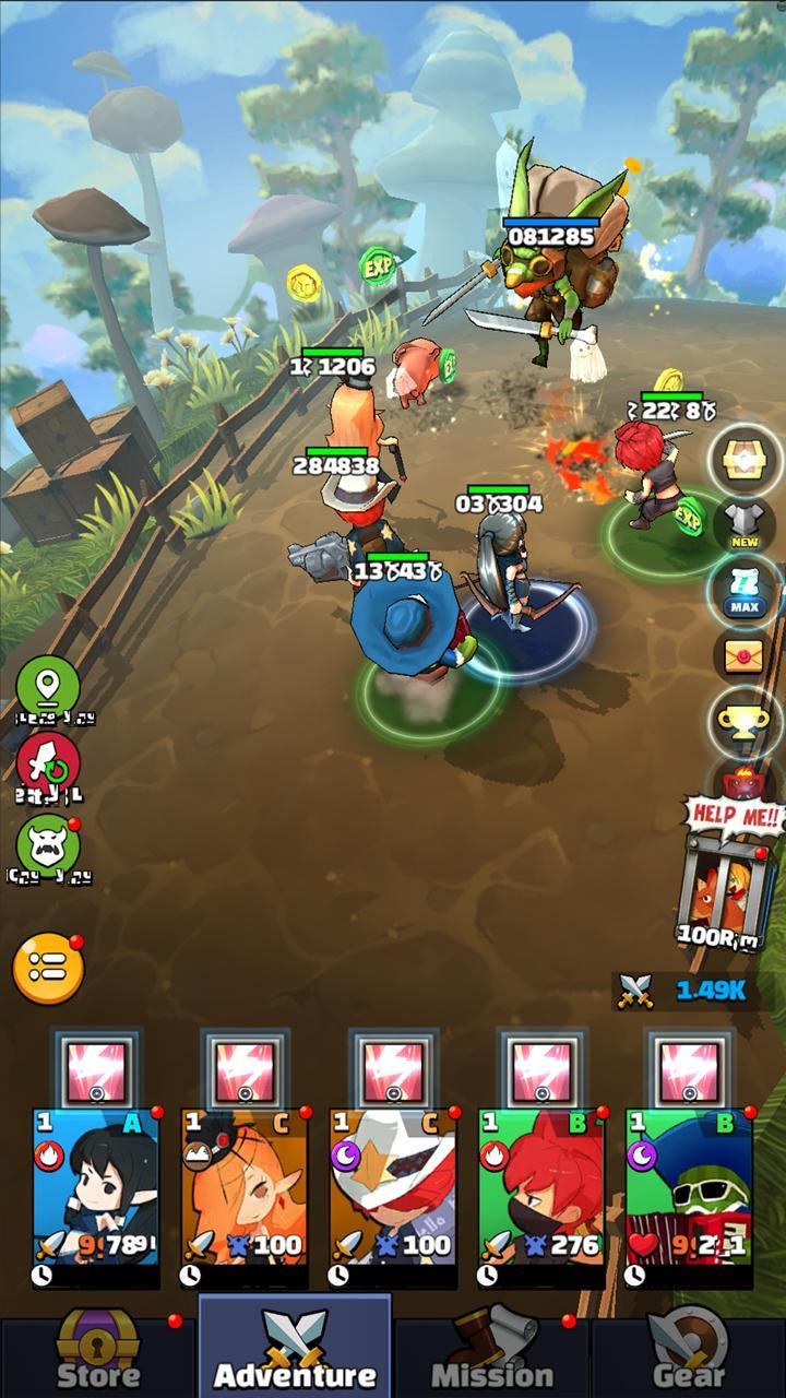Hello Hero All Stars: 3D Cartoon Idle RPG for Android - APK Download