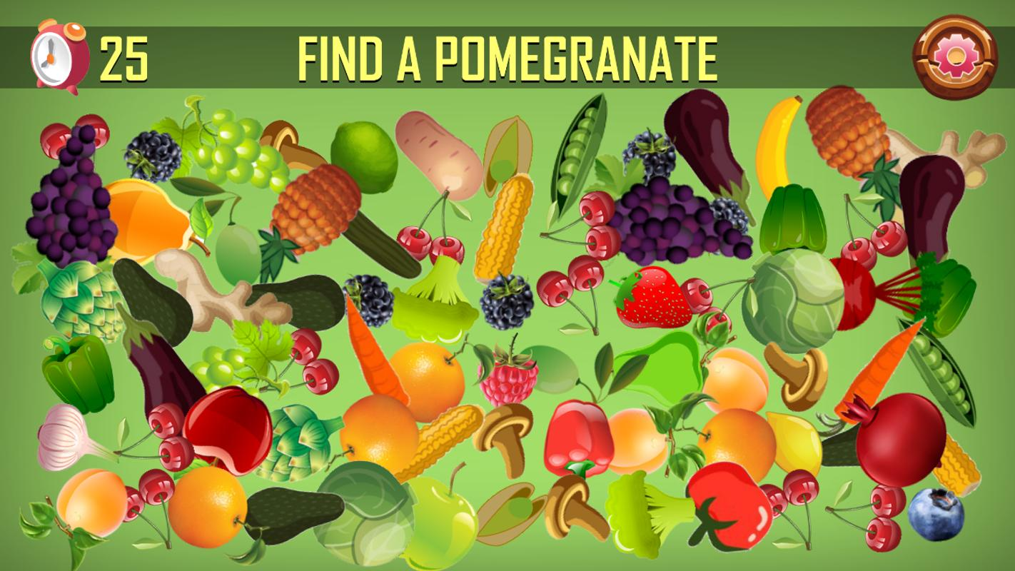Hidden Fruits Game Seek And Find Hidden Objects For Android Apk