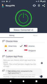 Wang VPN ❤️- Free Fast Stable Best VPN Just try it screenshot 1