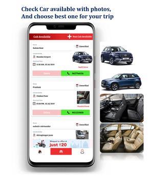 FindCab - Agent Driver Ride Sharing screenshot 1