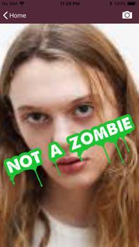 Zombie Identifier - Know the truth! screenshot 2
