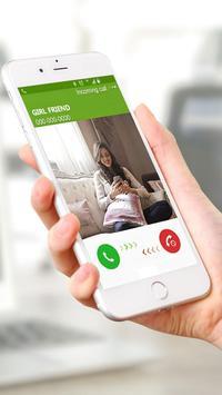 Fake call : Fake phone call pro screenshot 1