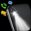Flash on Call & SMS, Flash alerts Flashlight blink icon
