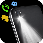 Flash on Call & SMS, Flash alerts Flashlight blink icon