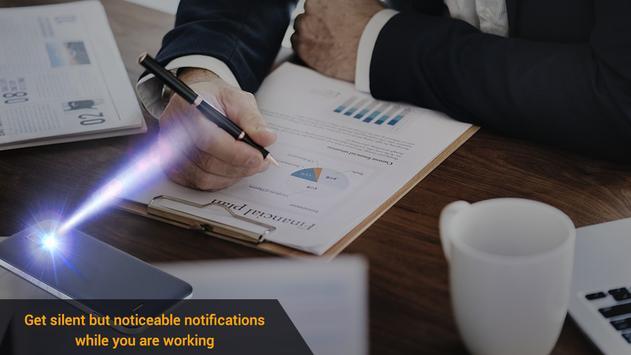 Flash on Call & SMS, Flash alerts Flashlight blink screenshot 7