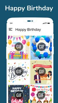 Happy Birthday GIF Wish & Greeting GIF Collection poster