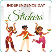 Independence day stickers 15 august Sticker Maker icon
