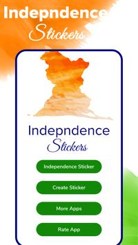 Independence day stickers 15 august Sticker Maker poster