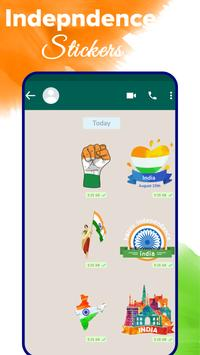Independence day stickers 15 august Sticker Maker screenshot 2