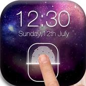 Fingerprint LockScreen Simulated Prank icon