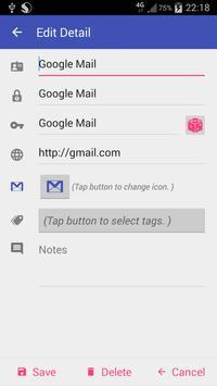 Password Book (Free) Screenshot 3