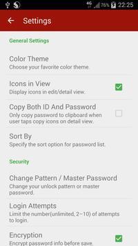 Password Book (Free) Screenshot 6