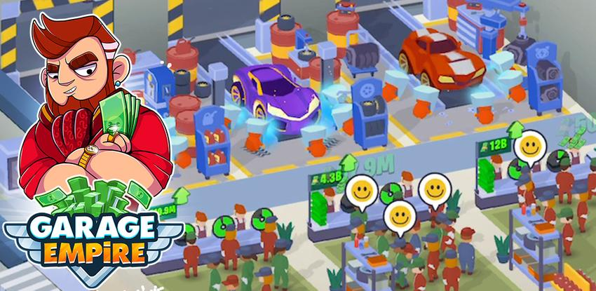 Garage Empire - Idle Building Tycoon & Racing Game APK
