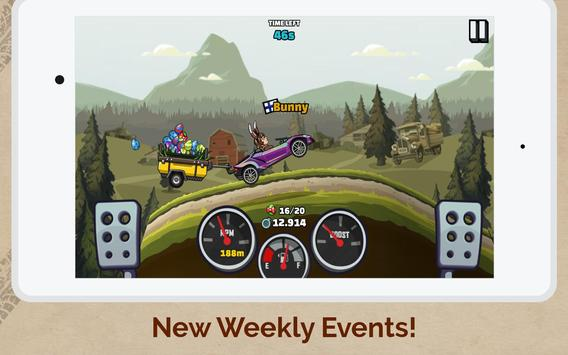 पहाड़ चढ़ने वाली रेसिंग 2 स्क्रीनशॉट 10