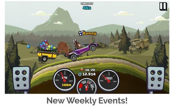 Hill Climb Racing 2 Ekran Görüntüsü 10