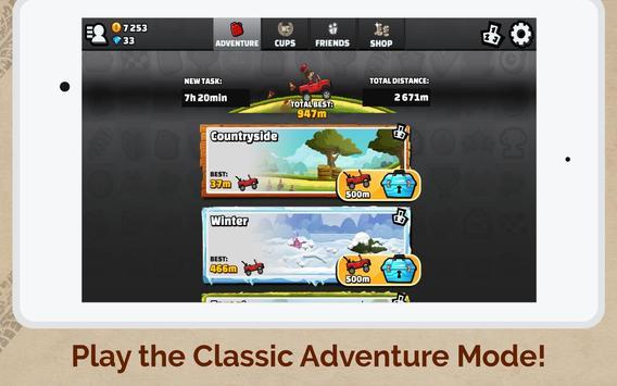 पहाड़ चढ़ने वाली रेसिंग 2 स्क्रीनशॉट 11