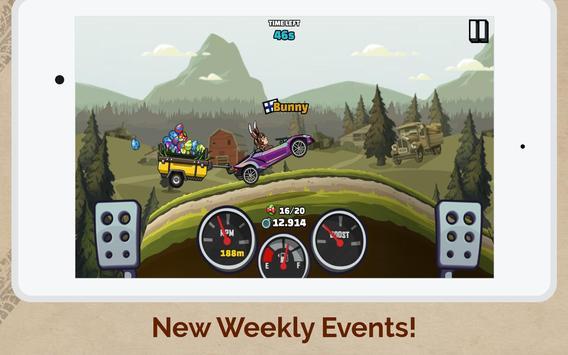 पहाड़ चढ़ने वाली रेसिंग 2 स्क्रीनशॉट 16