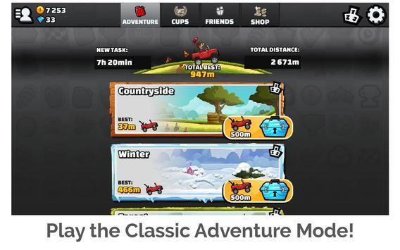 Hill Climb Racing 2 Ekran Görüntüsü 17