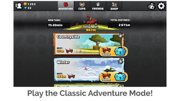 Hill Climb Racing 2 Ekran Görüntüsü 5