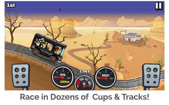 Hill Climb Racing 2 Ekran Görüntüsü 8