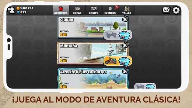 Hill Climb Racing 2 captura de pantalla 4