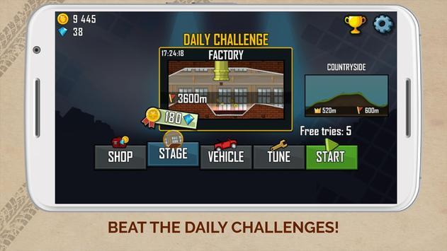 Hill Climb Racing captura de pantalla 4
