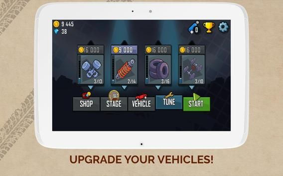 Hill Climb Racing captura de pantalla 7