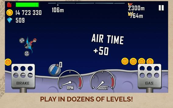 Hill Climb Racing screenshot 13