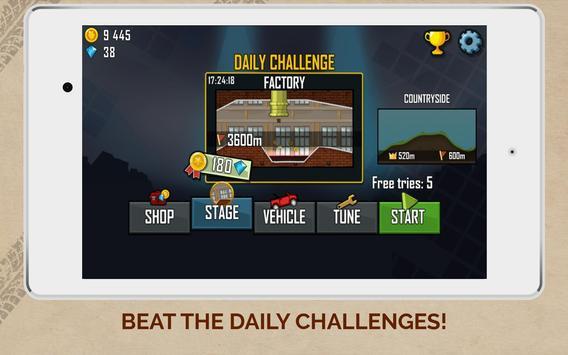 Hill Climb Racing captura de pantalla 14
