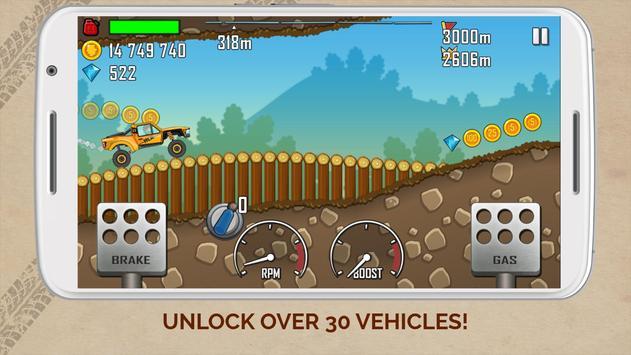 ヒルクライムレース: Hill Climb Racing スクリーンショット 1