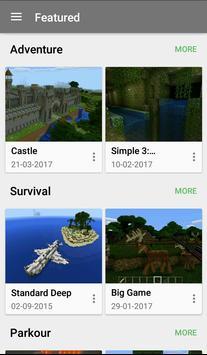 Mapy dla Minecrafta plakat