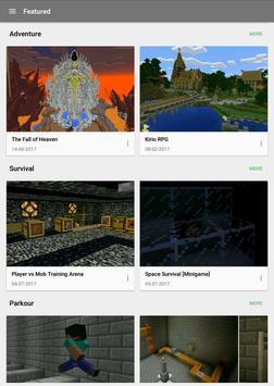 Mapy dla Minecrafta screenshot 5