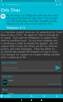 Daily Bible Devotion screenshot 9