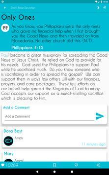 Daily Bible Devotion screenshot 13