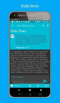 Daily Bible Devotion screenshot 1