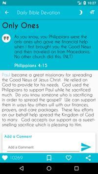Daily Bible Devotion screenshot 21